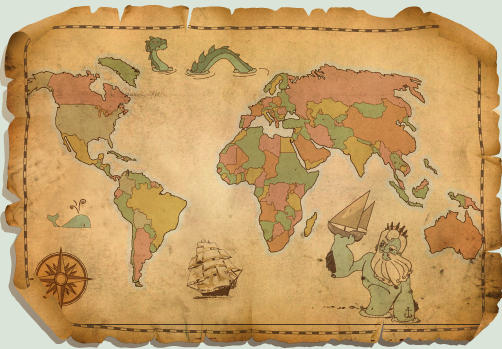 Mapa Antiguo by Diozen