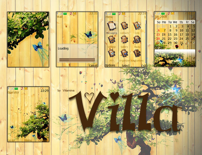 Villa by vanillavitamina