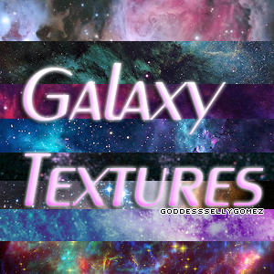 Galaxy textures by GoddessSellyGomez