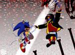Sonic.EXE VS ERROR Sans