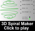 3D Spiral Maker by willmh93