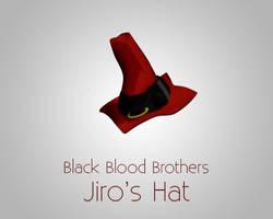 BlackBloodBrothers Jiro's Hat by dsreaper