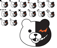 Monokuma Cursor by nightfright9