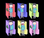 Osomatsu-san Folders for windows
