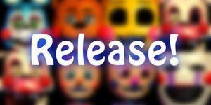 [C4D/FNAF] Toys Pack Release! by Swhooski