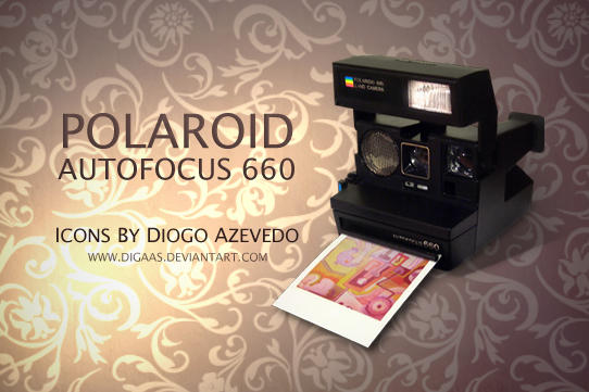 polaroid autofocus 660 by digaas on deviantart. Black Bedroom Furniture Sets. Home Design Ideas