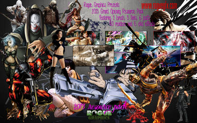 Rogue GFX 2013 Resource Pack 1 by xKeepher