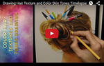 Tools and Hair Timelapse and Tutorial