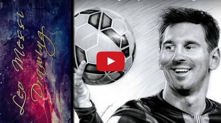 Leo Messi Timelapse