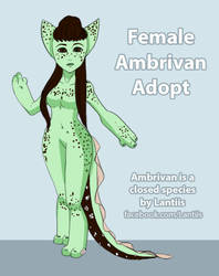 OPEN DTA Mint Chocolate Chip Female Ambrivan Adopt by Fangdream