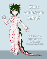OPEN DTA Pineberry Male Ambrivan Adopt by Fangdream