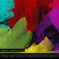 9 HQ Watercolor Brush by crisfx