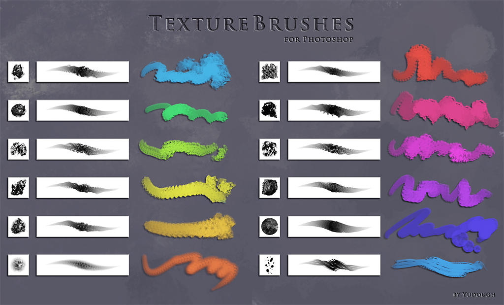 Photoshop Brushes by yudough