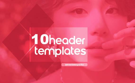header templates   psd