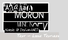 Text Large Textures