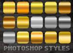 15 metallic styles