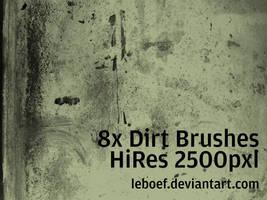 Dirt Brush Set by leboef