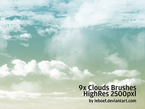 Cloud Brushes HiRes Nr.2 of 5
