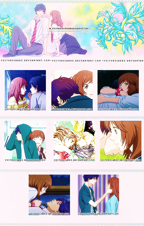Ao Haru Ride Icons by victoricaDES