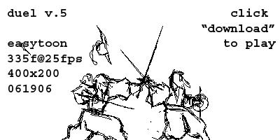 Duelling by Inkthinker