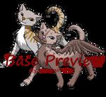 [Free Base] Winged cat