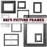 Bri's Picture Frame brushes by rabidbribri