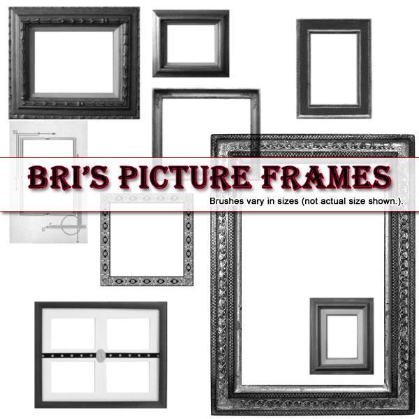 Bri's Picture Frame brushes by rabidbribri
