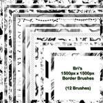 Bri's 1500px Border Brushes