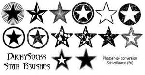 Duckysocks Star Brushes