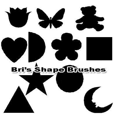 Shape Brushes by rabidbribri