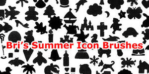 Bri's Summer-Misc Icon Brushes