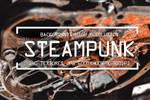 140 STEAMPUNK TEXTURES GRUNGE DIGITAL PAPERS