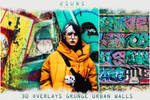 30 Urban Grunge Walls textures overlays