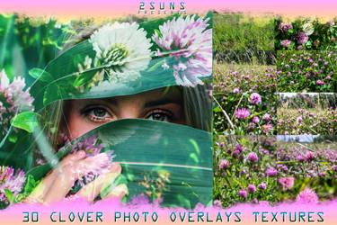 Download nature textures clover grass green by 2SUNS1