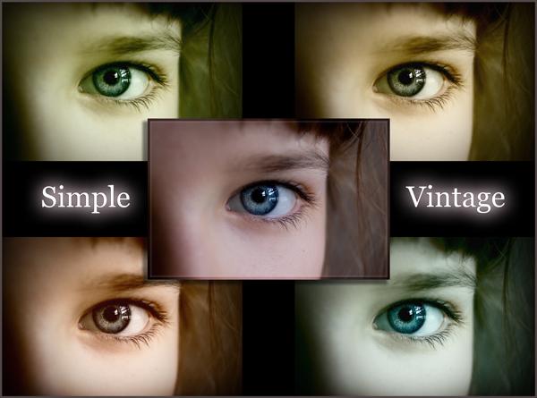 Simple Colour Vintage