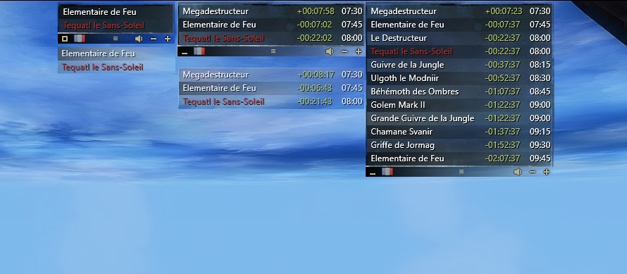 Guild Wars 2 - World Boss Timer Multilanguage