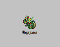 Pokemon Cursor - Animated Rayquaza by Arciam
