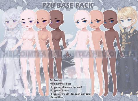 P2U base pack