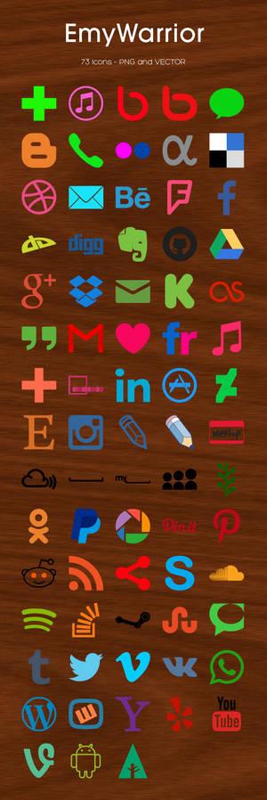 73 Icons Set