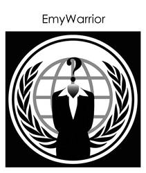 Anonymous Logo Woman Vector