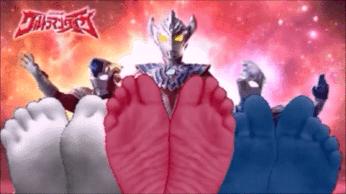 Ultraman Taiga Foot Spark Commercial by ultramantickler