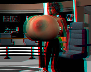 Breast Expansion Anaglyph 3D Animation by grycat20