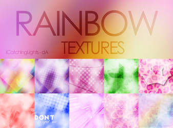 Ranibow Textures - Pack by iCatchingLights