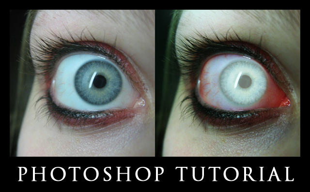 Zombie Eyes Tutorial by Cutspring