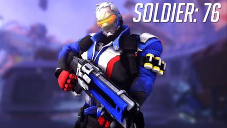 Soldier: 76 [MODEL RELEASE] by speeder99123
