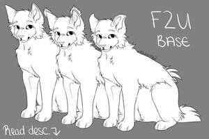 Cat Base || F2U [.psd and .png version]