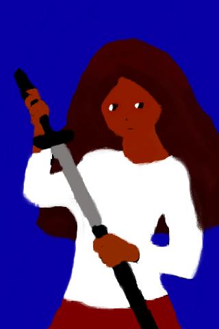 OC:  Me, a Warrior? by HayzyKids