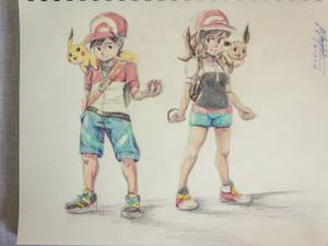 Let's Go, Pikachu! / Eevee!