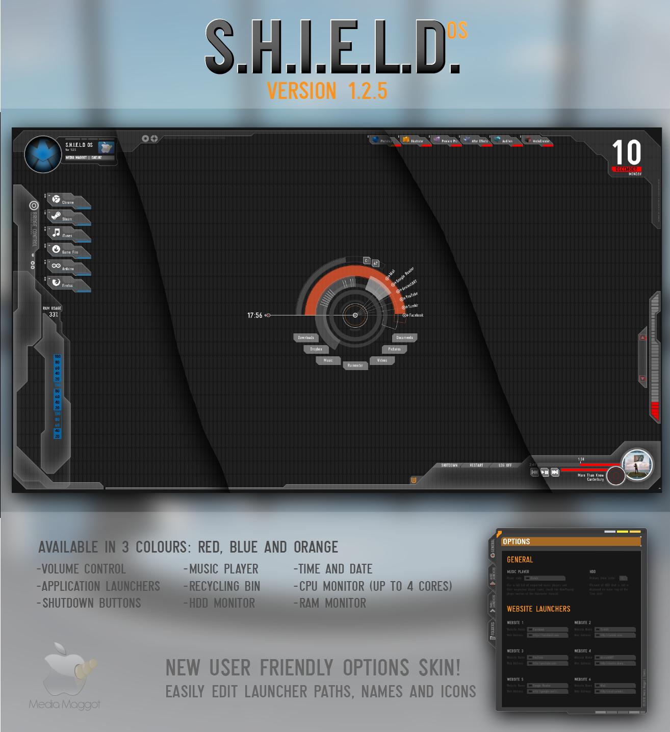 Avengers S.H.I.E.L.D OS Ver 1.2.5 by Daelnz