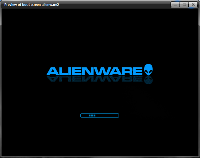 Alienware Bootskin by jasonwan1227